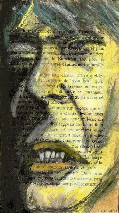 David Bowie by CatherineGaillard